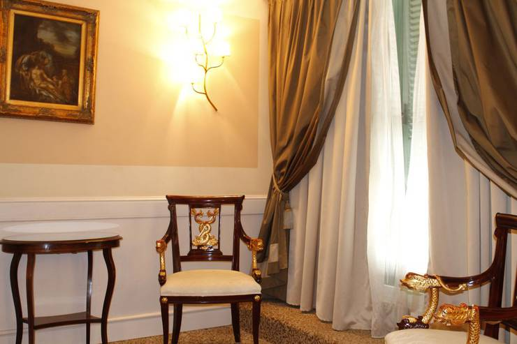 Single room boutique hotel trevi rome