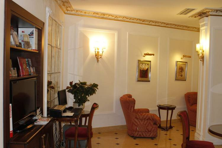 Business corner hotel gallia roma