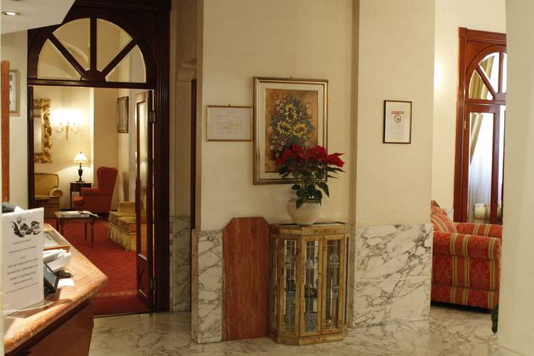 Entry pace helvezia hotel rome