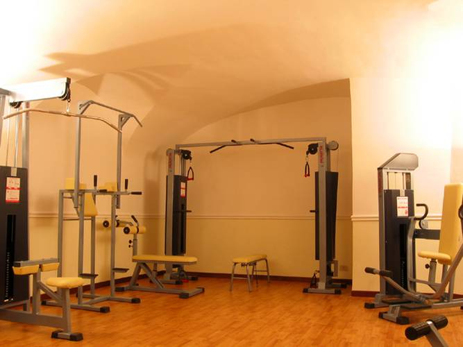 Gym viminale hotel rome