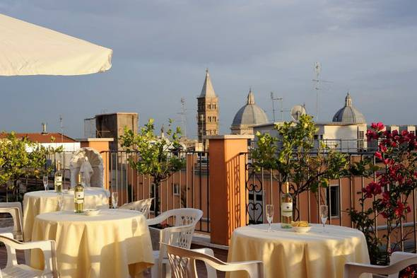 Fantastic rooftop torino hotel rome