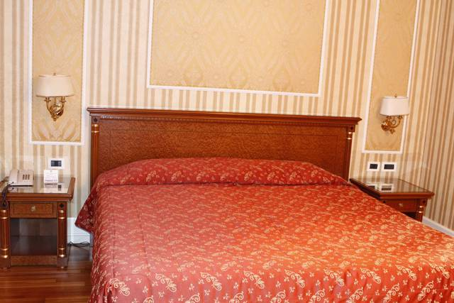 Standard double room for single use gallia hotel rome