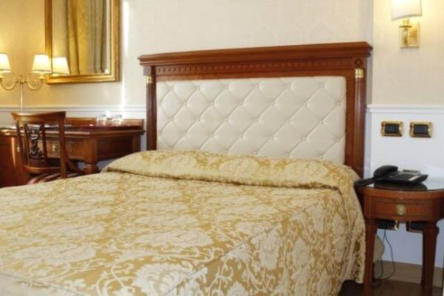 Standard double room for single use viminale hotel rome