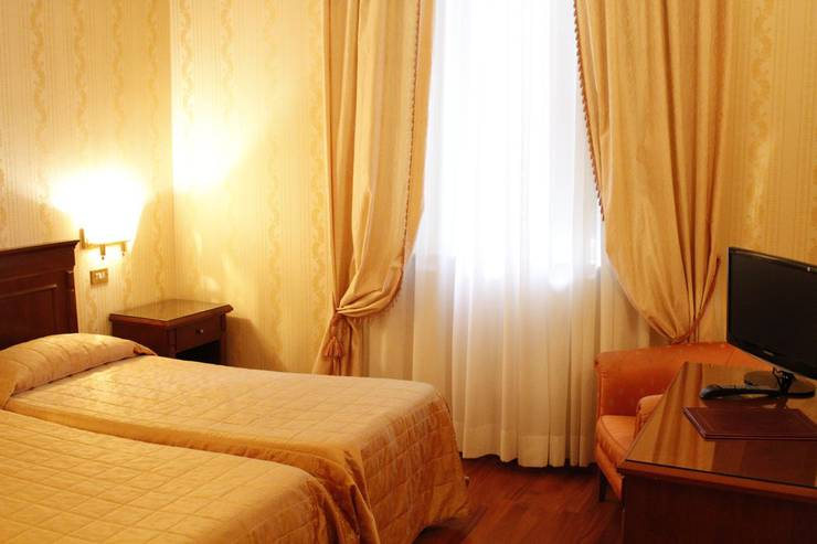 Standard double room torino hotel rome