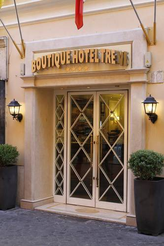 Entry boutique hotel trevi rome