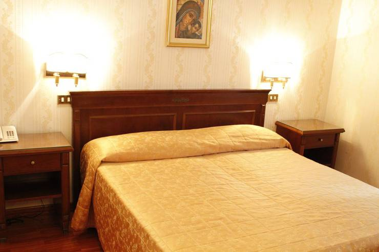 Standard double room for single use torino hotel rome