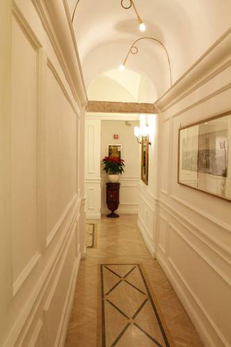 Hall boutique hotel trevi rome