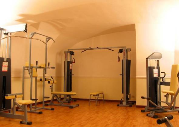 Free gym viminale hotel rome